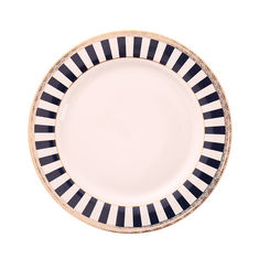 Lead Free Microwave Safe 9in Pink Porcelain China Dinnerware Sets